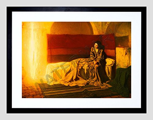 Tanner The Annunciation 9x7'' Framed Art Print F97x13797