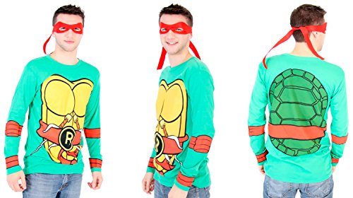 Teenage Mutant Ninja Turtles Long Sleeve Raphael Costume