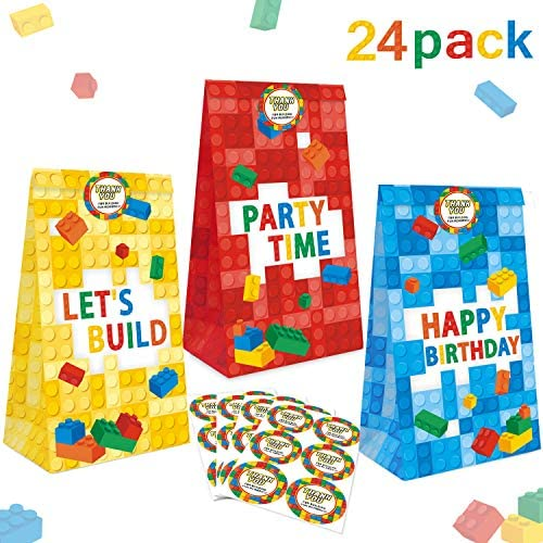 Building Supplies Birthday Including Stickers product image