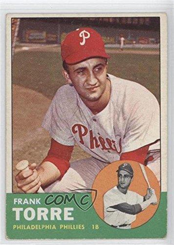 Frank Torre (Baseball Card) 1963 Topps - [Base] #161