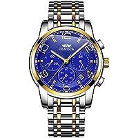 Olmeca Luxury Analog Quartz Waterproof Men's Wrist Watches