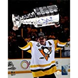 Evgeni Malkin Autographed 'Raising the Cup' 8x10 Photo Frameworth Auth 52-840 - Authentic Autograph