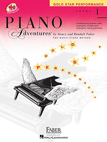 (Level 1 - Gold Star Performance Book: Piano Adventures)