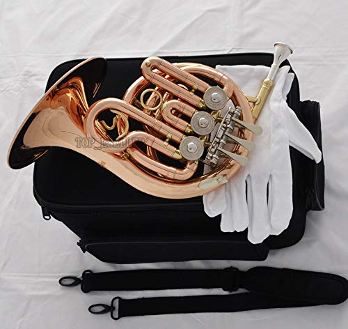 FidgetGear Prof. New phosphor Brass Piccolo MiNi French Horn Bb Pocket horn Engraving Bell