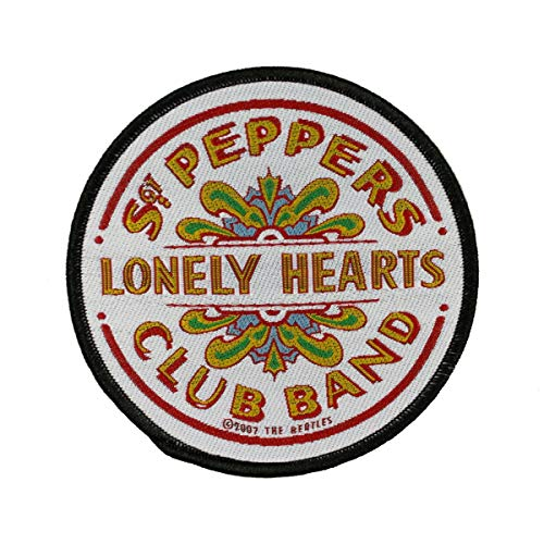 The Beatles Sgt. Pepper Drum Woven Patch ()