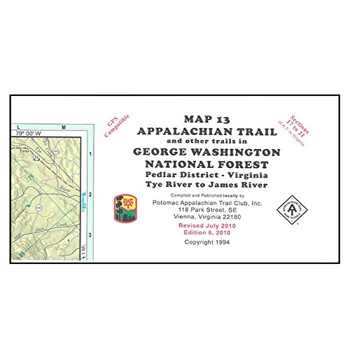 At/pac Map 13 Gwnf - Potomac Outlets