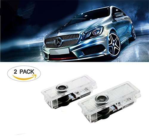 Door lighting car door projector shadow logo light for for Mercedes benz door lights