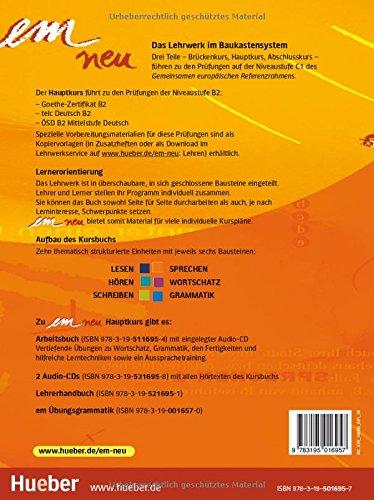 Em neu Hauptkurs: Kursbuch: Amazon.co.uk: Klett Verlag ...