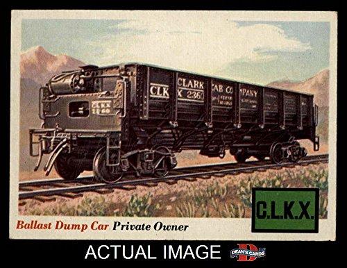 1955 Topps Rails & Sails # 10 Ballast Dump Car (Card) Dean