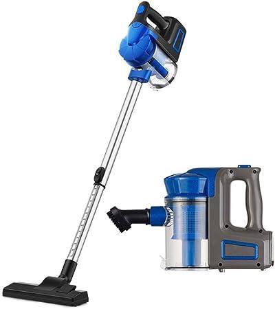 KJRJXCQ Aspirador 2 en 1 palillo Aspirador Potente Limpiador 17000PA motorizado de Mano de vacío, Captura saca el Polvo, desechos, Las Migas, pelos de Mascotas de Hardfloor, Alfombra, de Techo: Amazon.es: Hogar