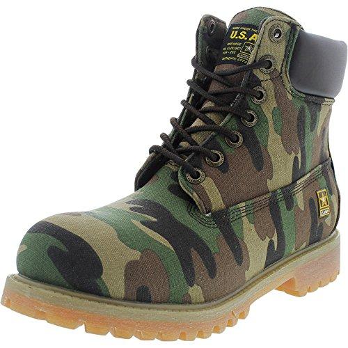 U.S. Army Mens Patriot Boot Olive Camo (10.5 M US)