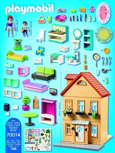 PLAYMOBIL City Life 70014 Mein Stadthaus, Ab 4 Jahren