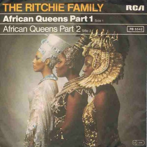 Price comparison product image Ritchie Family,  The - African Queens Part 1 / Part 2 - RCA Victor - PB 5542