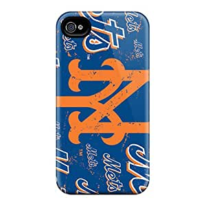 PwkXB1410igZpU Case Cover Protector For Iphone 4/4s New York Mets Case