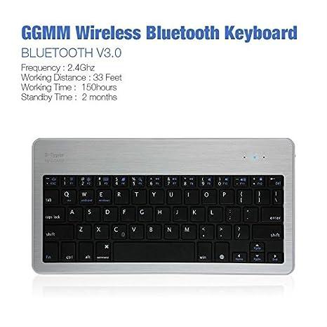 Rosa Lagarto GGMM b-typer bk-310 - 01 teclado Bluetooth para IOS/Android/Windows Phone/Tablet: Amazon.es: Electrónica