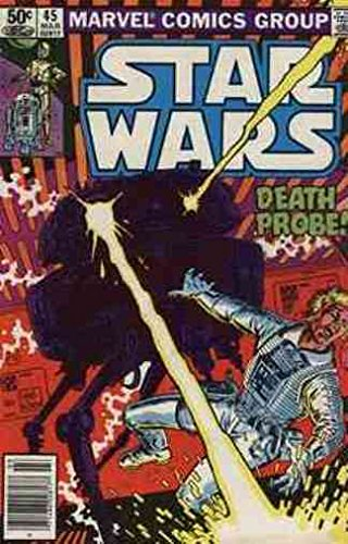 STAR WARS 45 VF-NM COMICS BOOK