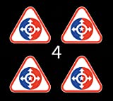"""US Army Individual Ready Reserve (IRR) SSI 3"""" (4)Four Decal Sticker Lot"""