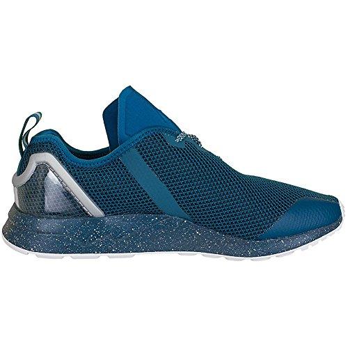 adidas ZX Flux ADV Asymmetrical Surf Petrol Black White Azul
