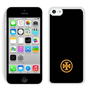 Unique And Luxurious Designed For iPhone 5C Cover Case With Tory Burch 68 White Phone Case