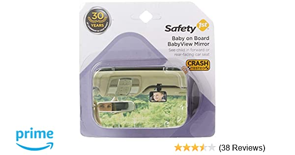 Safety 1st 48919/224 Baby on Board Front or Back Babyview Mirror (Pack of 2)