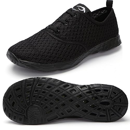eyeones Men's Lightweight Quick Drying Mesh Aqua Slip-on Water - Ab3 Light
