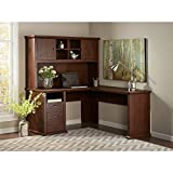 Yorktown L Shaped Desk with Hutch