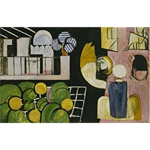 Oil Painting 'The Moroccans 1916 By Henri Matisse' Printing On High Quality Polyster Canvas , 12x19 Inch / 30x48 Cm ,the Best Home Office Gallery Art And Home Decor And Gifts Is This Cheap But High Quality Art Decorative Art Decorative Prints On Canvas
