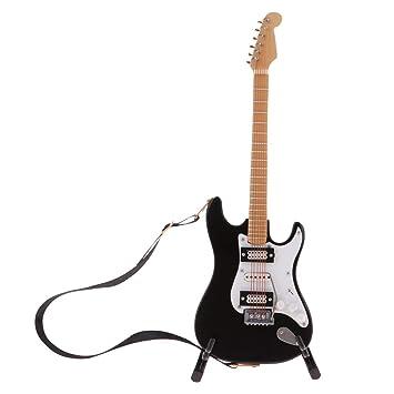 Amazon.es: P Prettyia Mini Guitarra Acústica con Organizador ...