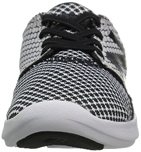 M Black white V3 4 Boys' New Loop Coast Us Hook Shoe Balance Toddler Running 14wPS