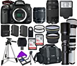 Canon EOS 7D Mark II Wi-Fi Digital SLR Camera Bundle Plus...