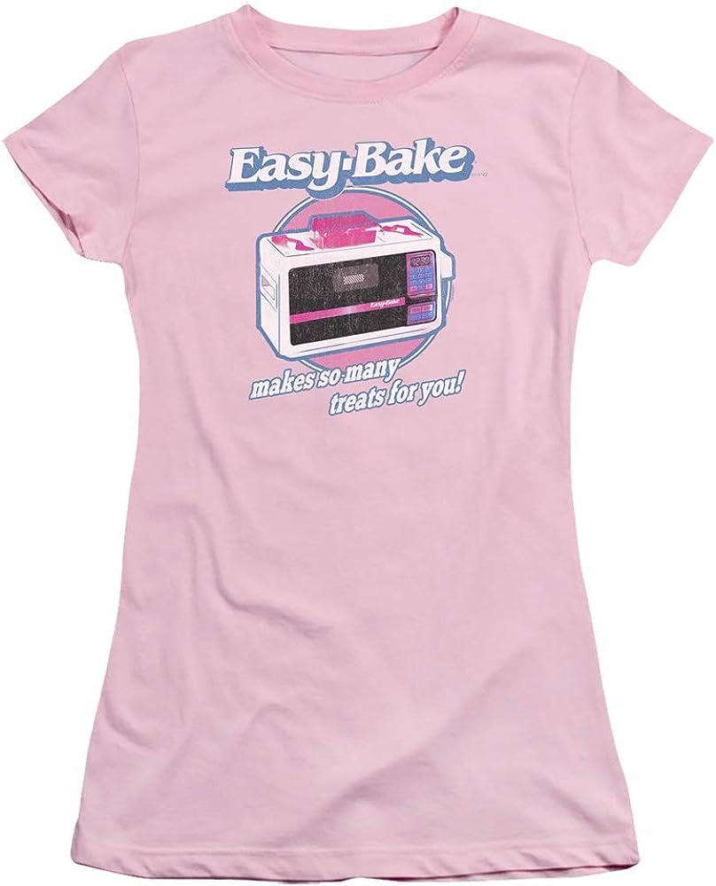 Trevco Easy Bake Oven Treats Juniors' Sheer Fitted T Shirt