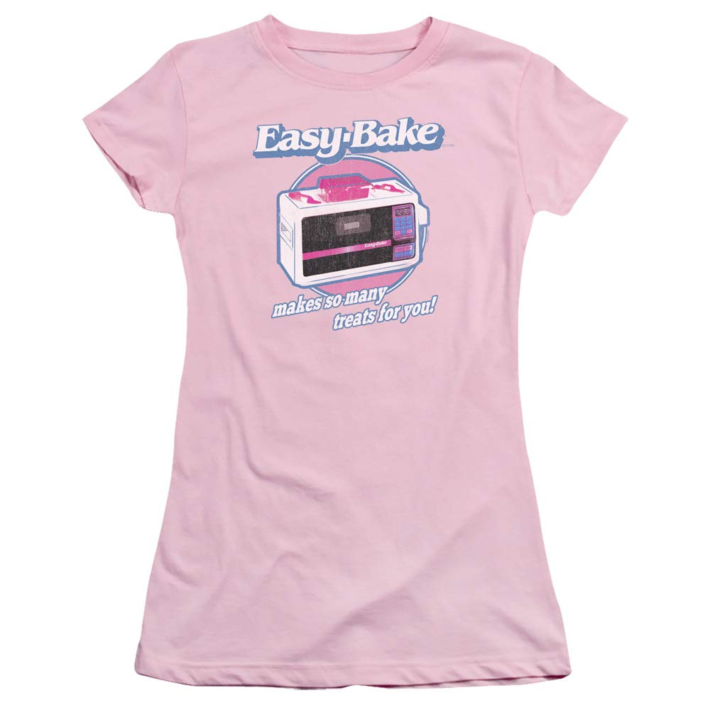 Easy Bake Oven Treats Juniors' Sheer Fitted T Shirt