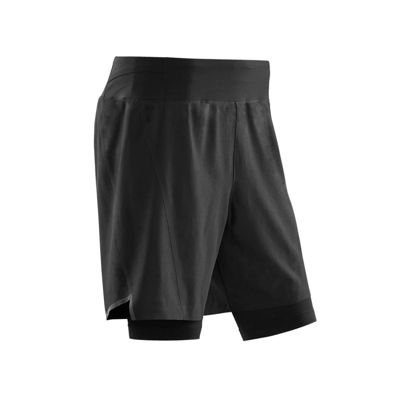 CEP - Run 2IN1 Shorts 3.0 für Herren | Kurze Sporthose mit Kompression
