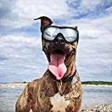 Dog Goggles - Dog Sunglasses Pet Sunglasses for Medium to Large Dogs (Black)