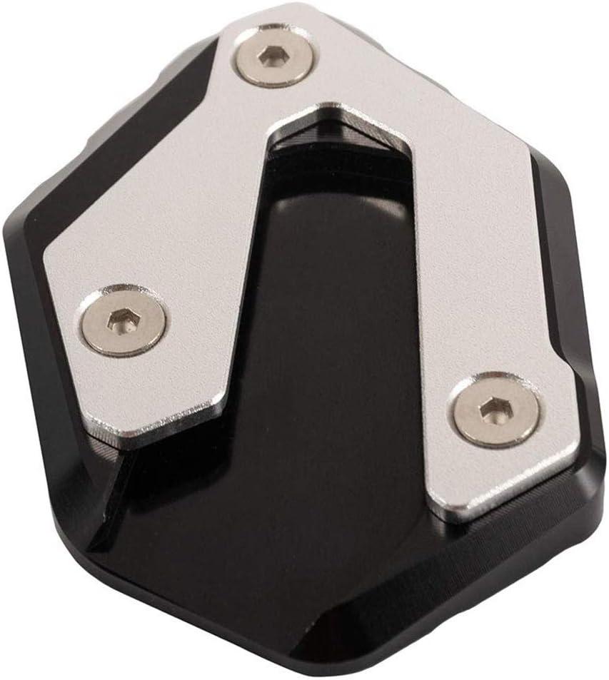 Noir Beauneo Support de Plaque DExtension de B/éQuille Lat/éRale de Moto pour Mt07 Mt-07 Xsr700 Xsr 700 Tracer Accessoires de Moto 900 GT
