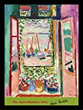 Framed the open window 1905 by Henri Matisse 16x12 art print poster wall decor museum master still life. Buy art for less is a great way to get beautiful quality artwork for very reasonable prices
