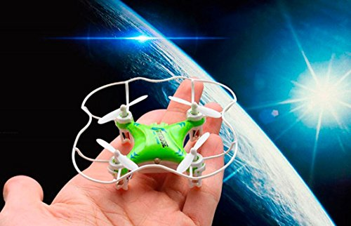 IKevan JJRC H37 WiFi Operation Without Remote Control Aircraft Quadcopter Mini Helicopter,Green. by JJRC