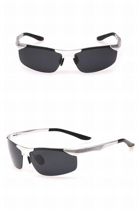 Hombre Gafas de Sol Polarizadas Aviación Aluminio Magnesio Gafas de Sol Conductor Conducir Gafas Gafas de