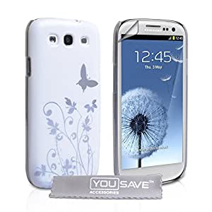 Yousave Accessories Mariposa - Funda para móvil