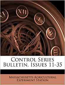 Control Series Bulletin Issues 11 35 Massachusetts
