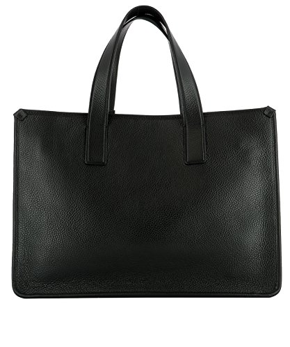Santoni Borsa Shopping Donna DFBBA1505BAAAD1N01 Pelle Nero
