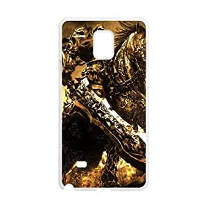 Samsung Galaxy Note 4 Cell Phone Case White Darksiders Wrath of War JSK892614