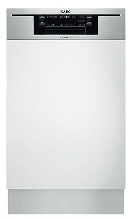 AEG F65412IM0P Teilintegrierbarer Geschirrspüler / A++ A / 9 Maßgedecke /  45 Cm / Edelstahl: Amazon.de: Elektro Großgeräte
