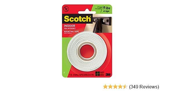 0.5-inch x 75-inches Scotch Brand 110P 110 Tape-Caulk