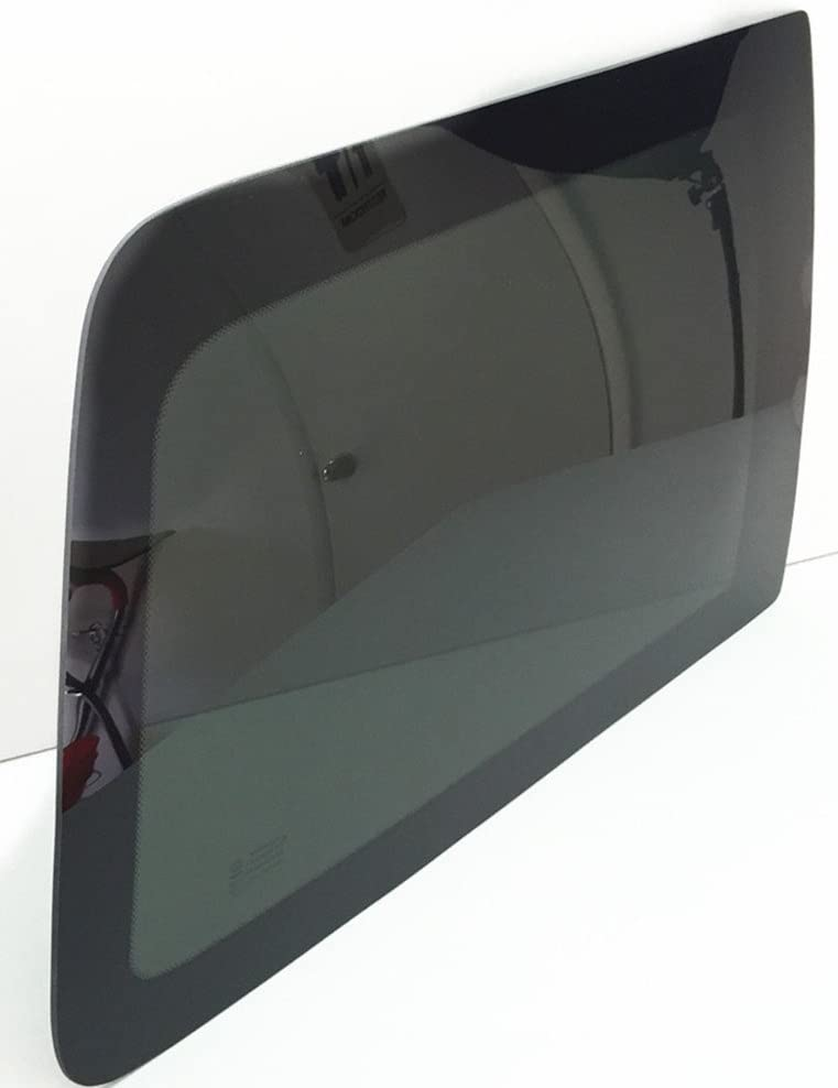 NAGD Compatible with 2007-2010 Jeep Wrangler 2 Door SUV Driver Left Side Rear Quarter Glass Quarter Window