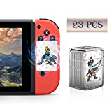 23 Pcs Full Set NFC Tag Game Cards for The Legend of Zelda Breath of The Wild Switch/Wii U- 23pcs Cards Crystal Caser: more info