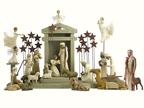 (25 Pc. Willow Tree Nativity Package)