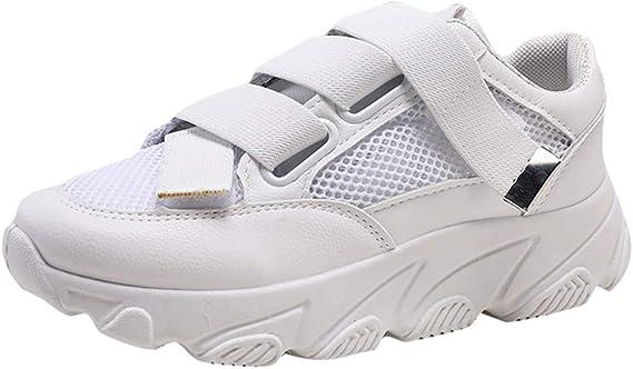 Zapatillas de Deporte para Mujer, de Malla, Ligeras, Casuales ...
