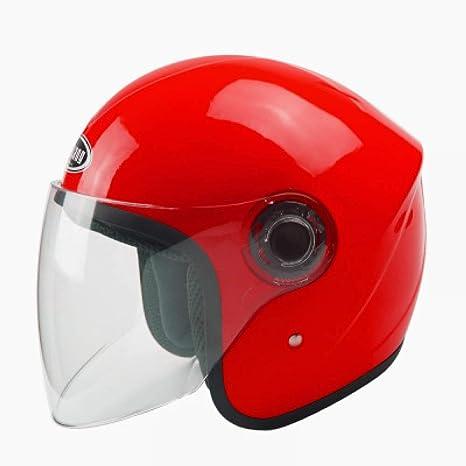 CCMUP Casco portátil a prueba de viento, moderno y cálido Casco para motocicleta Casco para