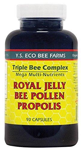 YS Organic Bee Farms Triple Bee Complex Royal Jelly Bee Poll